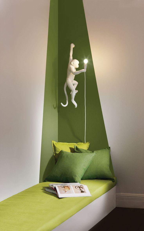 PEINTURE SICO | Le vert crée un climat agréable et génère un environnement relaxant tout en fraîcheur, parfait pour un ressourcement de l'esprit.. Amusez-vous à agencer couleur des murs, éclairage et déco, et crééz-vous un coin bien à vous, propice au ressourcement et à la relaxation!