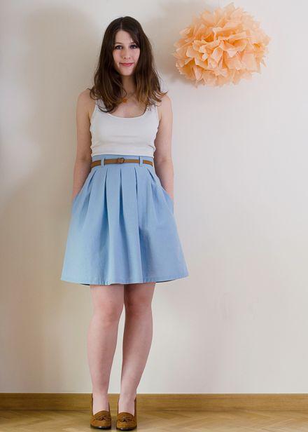Chardon skirt by Deer & Doe