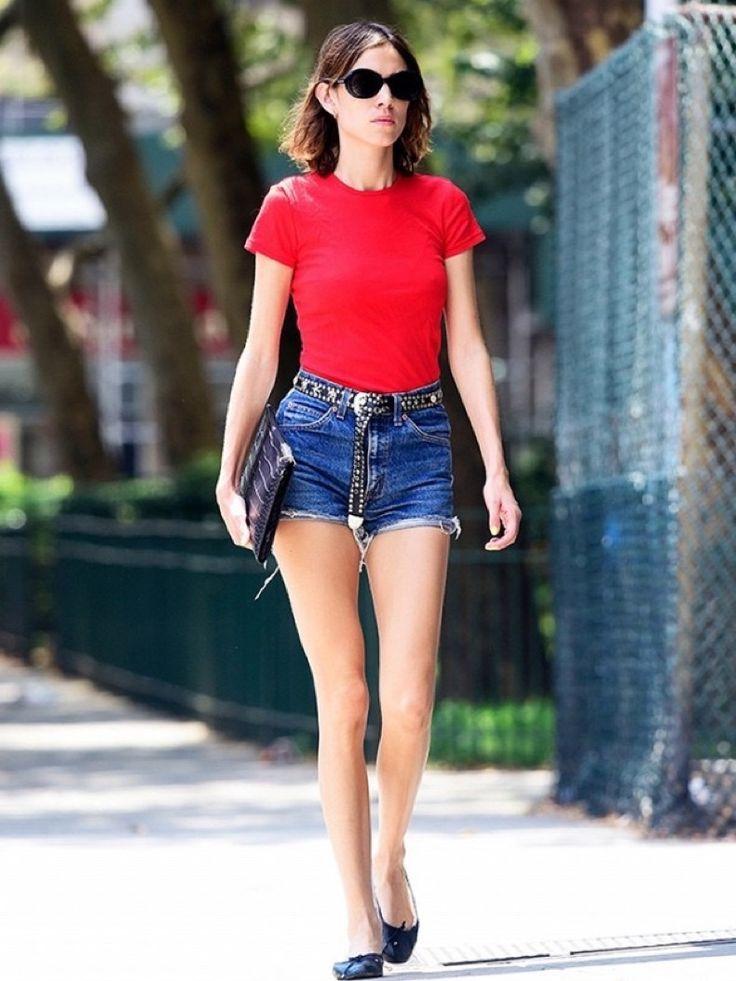 La Guía De Alexa Chung Para Usar Shorts En Verano | Cut & Paste – Blog de Moda