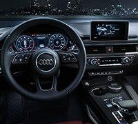 All-new Audi A5 Sportback driver seat
