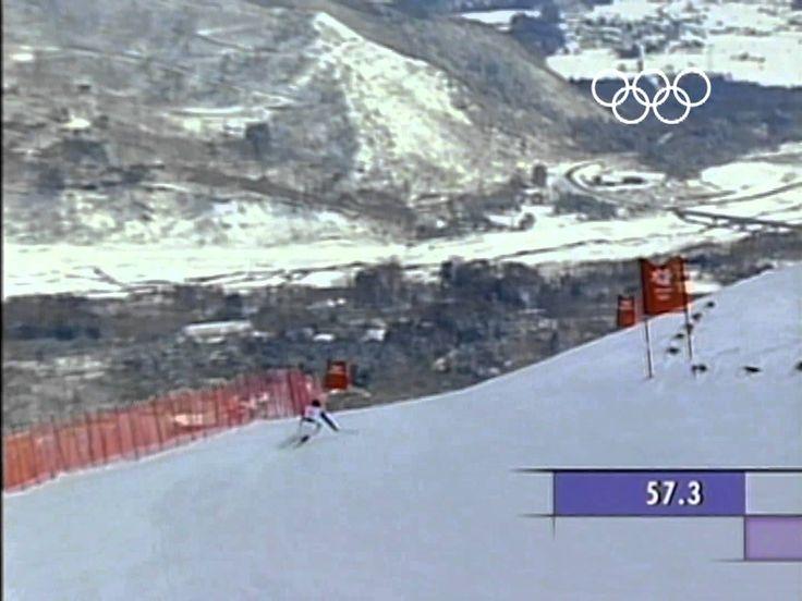 Winterolympia 1998 in Nagano - Gold Katja Seizinger