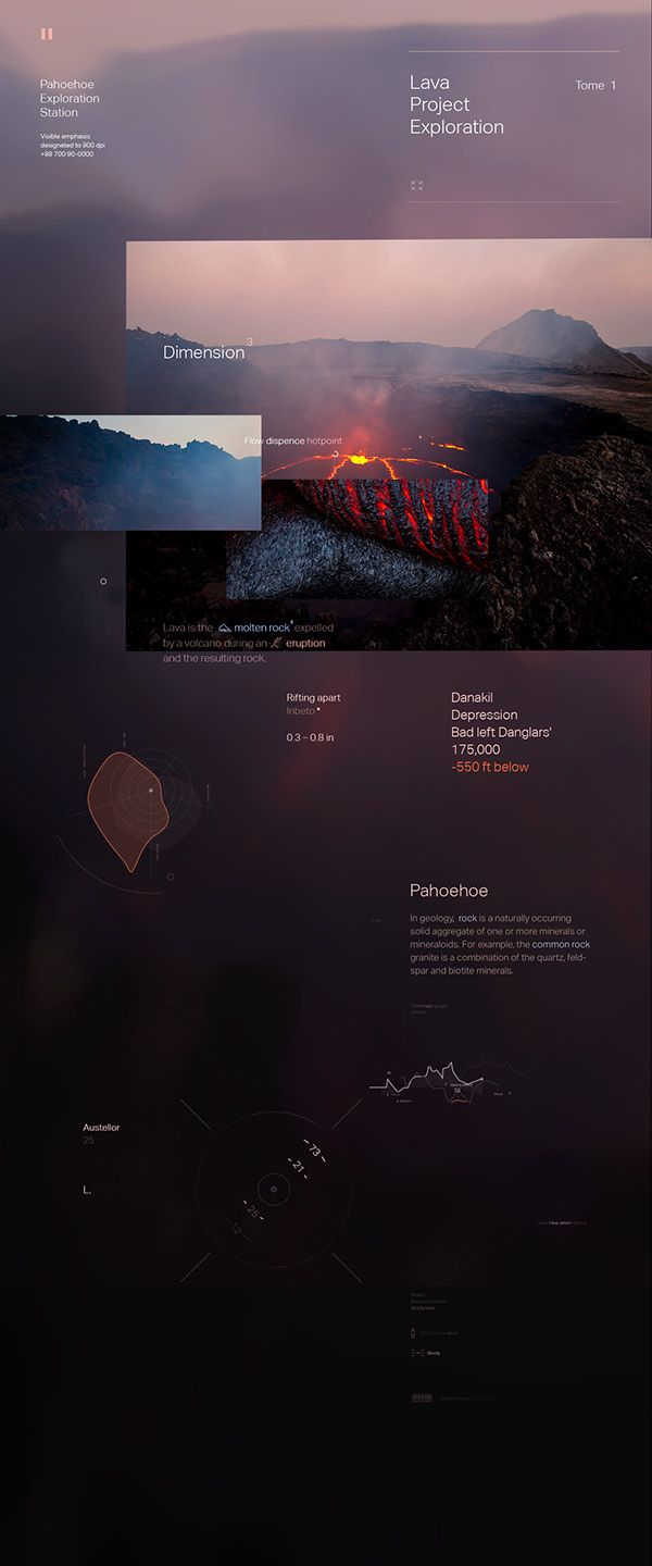 Lava on Behance
