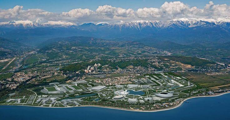 Сочи, Олимпийский парк.