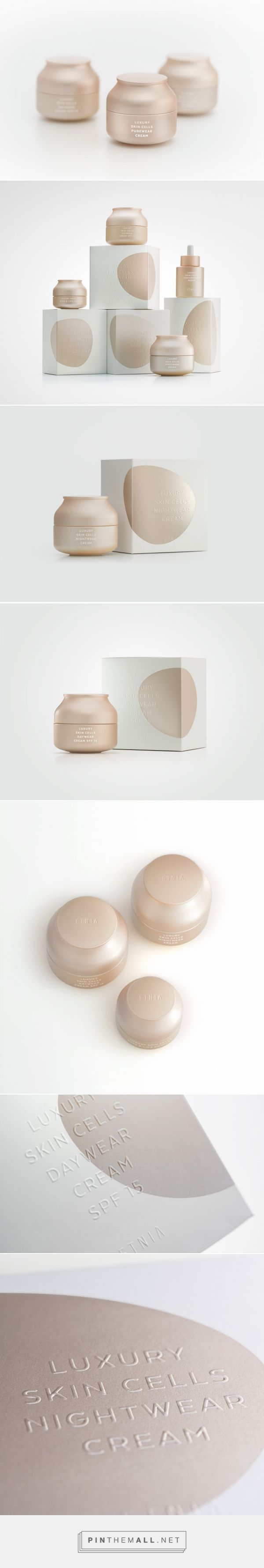 Luxury Skin Cells #packaging #design by Lavernia & Cienfuegos - http://www.packagingoftheworld.com/2017/06/luxury-skin-cells.html