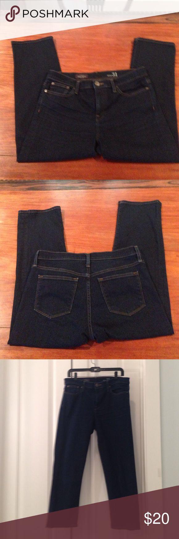 "J. Crew Cropped Jeans J. Crew Vintage Cropped jean.  25"" inseam. Dark wash.  92% cotton, 6% polyester, 2% elastase. J. Crew Jeans Ankle & Cropped"