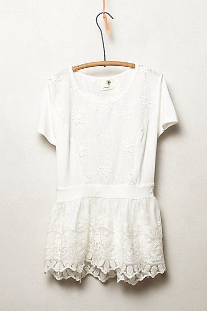 Kenai Peplum Top | Anthropologie