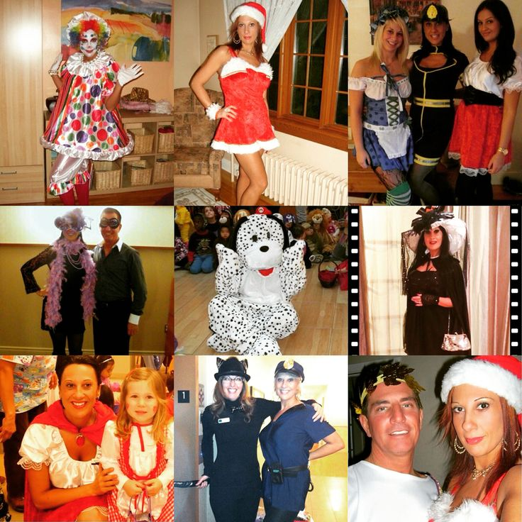 Few of my Halloween costumes during years