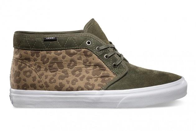 "Vans Chukka Boot CA Fall 2013 ""Leopard Camo"""