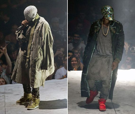 """Kanye West """"Yeezus"""" Tour Outfits"""