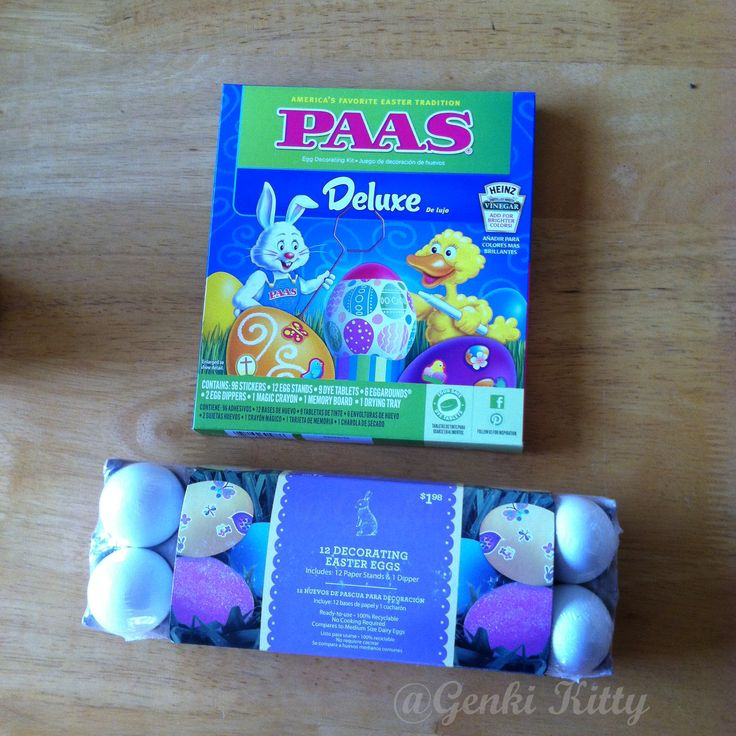 Vegan Easter Egg Decorating