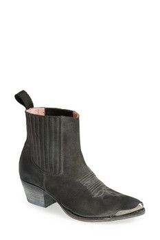 Sendra Boots 'Linda' Leather Bootie (Women)