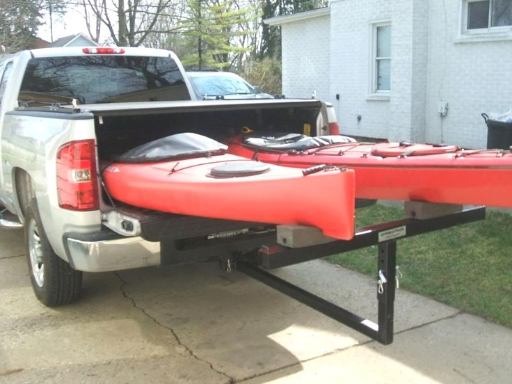 Lifetime Warranty TMS® 2 Pairs JBar Rack HD Kayak Carrier