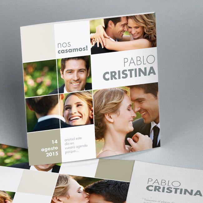 invitaciones de boda con foto originales - Buscar con Google