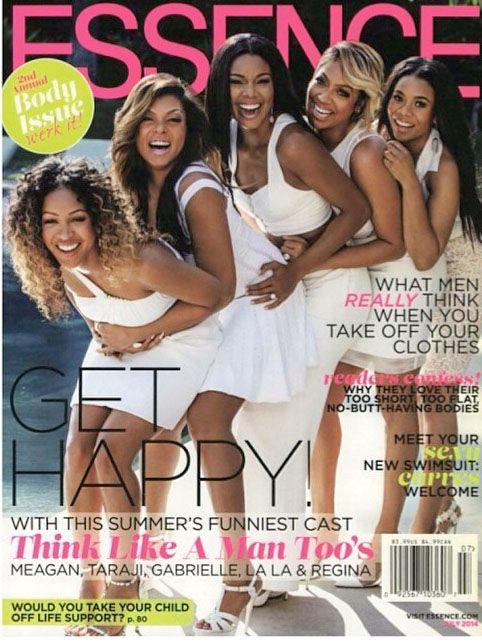 Snapshot: Meagan Good, Taraji P. Henson, LaLa Anthony, Gabrielle Union, and Regina Hall of Think Like a Man Too for Essence July 2014 - The ...