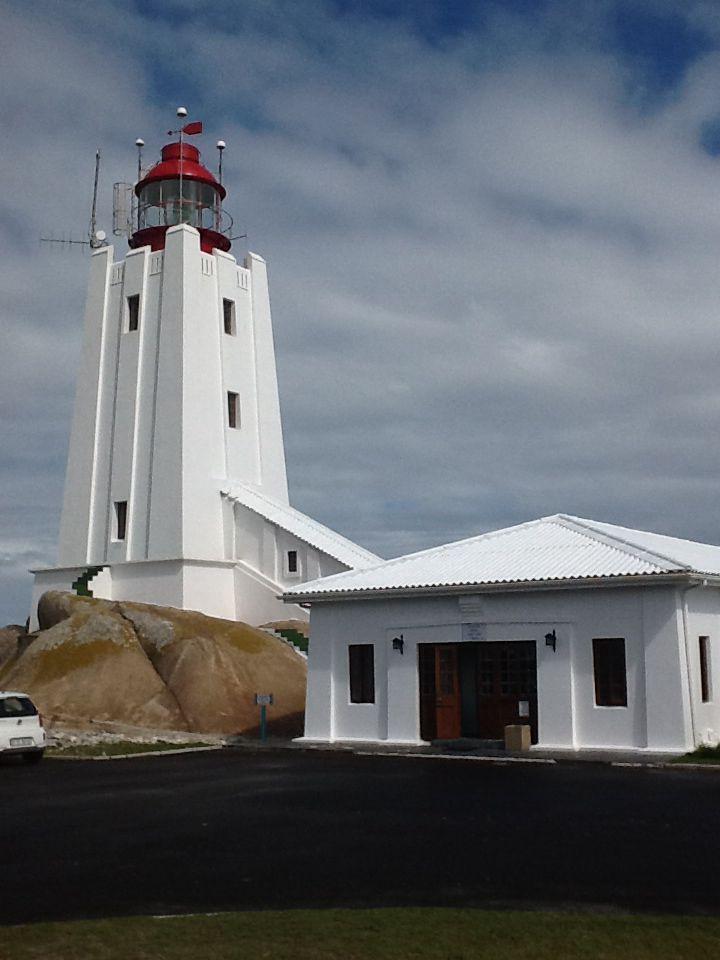 Cape Columbine Lighthouse, Paternoster, Western Cape.