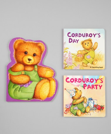 Take a look at this Corduroys Activities Board Book Set by Penguin Group (USA) on #zulily today!