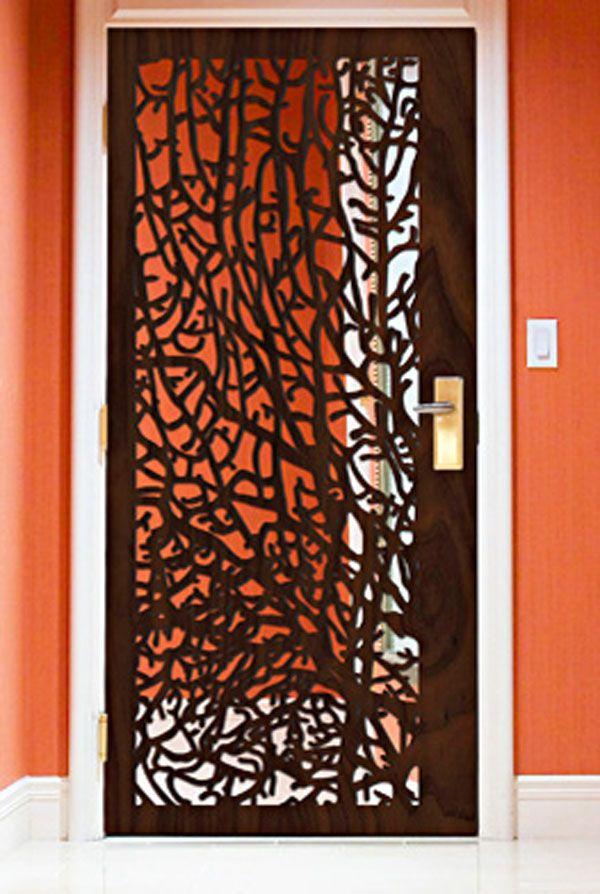 cut out door