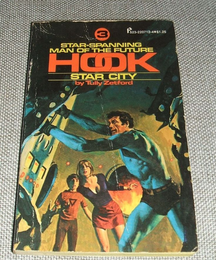 Star city #3 in the Hook Series by Tully Zetford  Vintage Science fiction