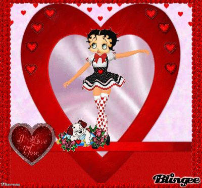 20 best images about Betty Boop Valentines Cards – Free Animated Valentine Cards