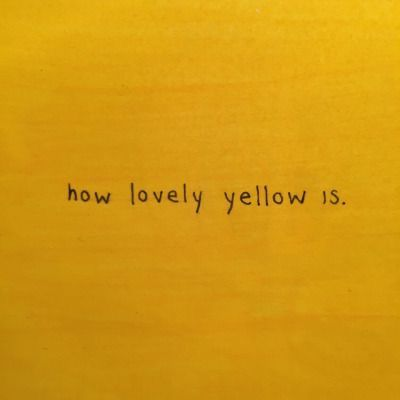 shades of yellow