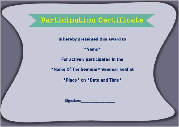 Best 25+ Certificate of participation template ideas on Pinterest - printable certificate of participation