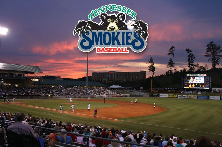 Tennessee Smokies Baseball - Playing 70 home games at Smokies Stadium between April and September.