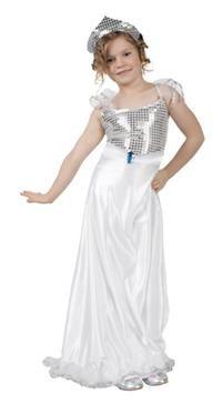 Gümüş Prenses Kostümü, 7-9 Y Parti Kostümleri - Kız Çocuk Parti Kostümleri Prenses Kostümleri: Kostümlü Parti, Kıyafet Balosu, Okul Gösterileri, Prenses Temalı Doğum Günü Partileri için ideal kostüm.  Payetli kumaş taç, elbise ve kemerden oluşur.