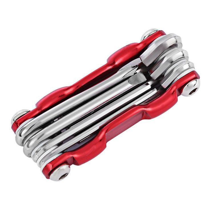7 in 1 Mountain Bicycle Tools Sets Bike Bicycle Multi Repair Tool Kit  Hex Spoke Wrench Mountain Cycle Screwdriver Tool