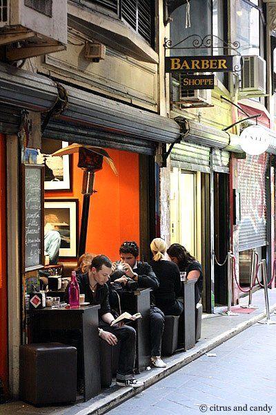 Melbourne lane-way culture.