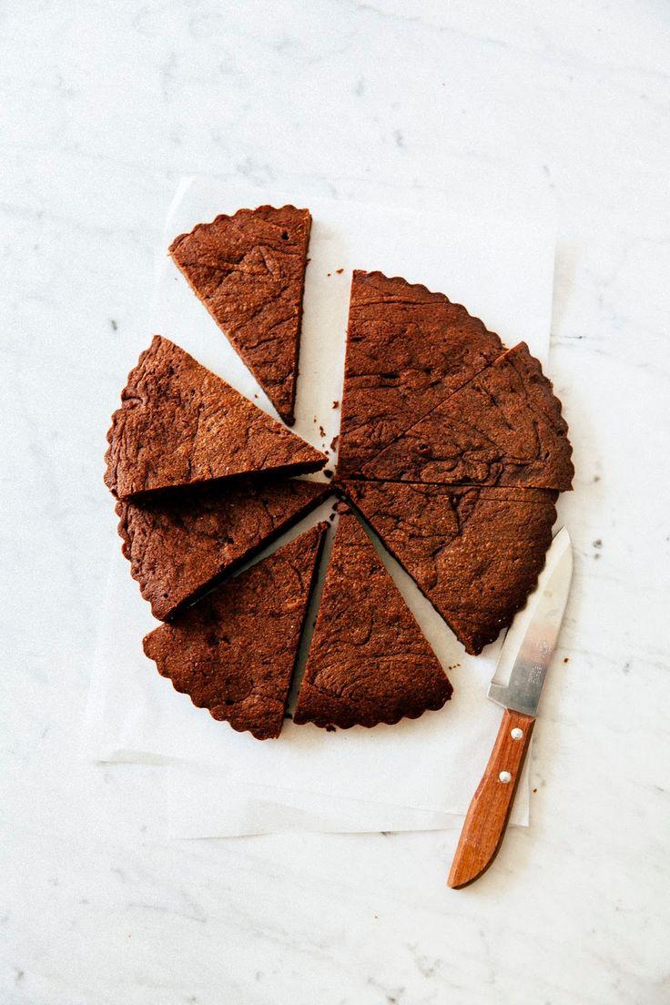 one bowl nutella brownie tart