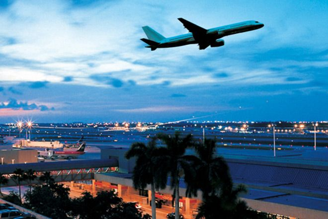 FLL Airport services over 11 million passengers annually.  Affordable parking for trips is available.