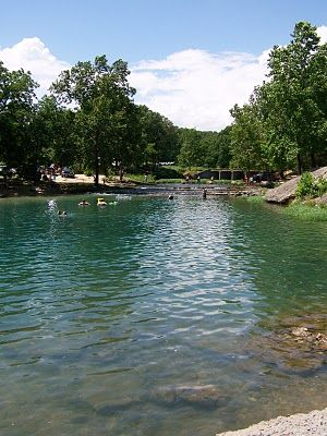 Blue Hole Park in Salina, OK.--COOL place...literally...the water is COLD! It's great for a hot summer day.
