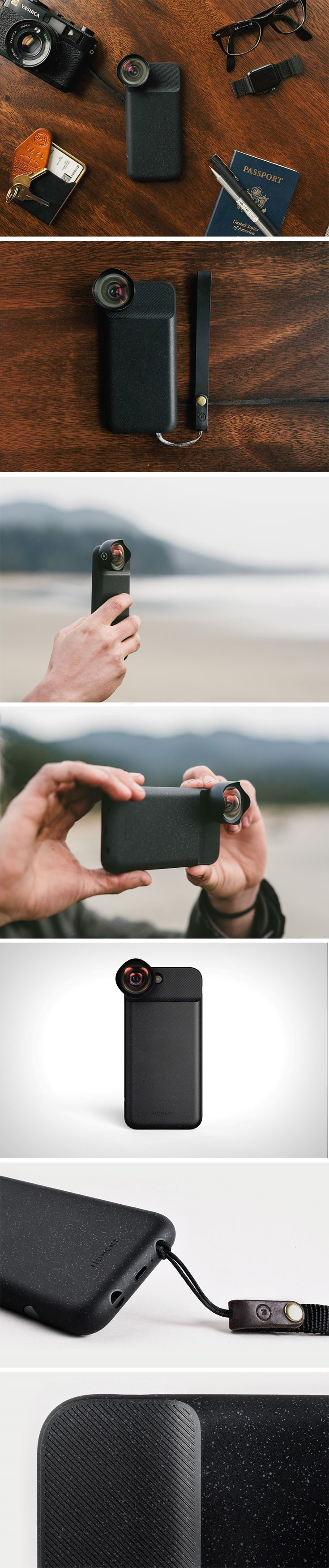 Moment's 2.0 battery case for the iPhone 7 is just perfect for the phone-photography enthusiast. It gives you serious battery chops, while also giving your phone the perfect grip for photo-taking. Moment makes some of the world's best smartphone lenses, and these snap directly onto the case.