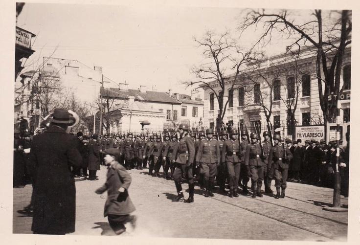 Constanta - Defilare a armatei germane in timpul WW2