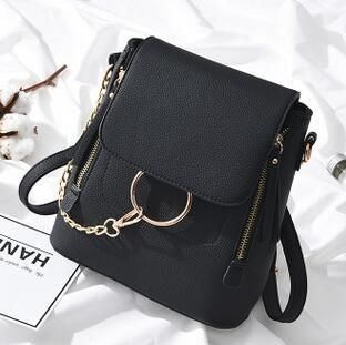 Ladies Hand Bags Famous Brand Bags Logo Handbags Women Fashion Black Leather