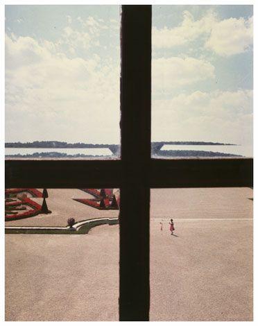 Luigi Ghirri, Versailles 1977 Vintage cibachrome From the series Kodachrome and Vedute