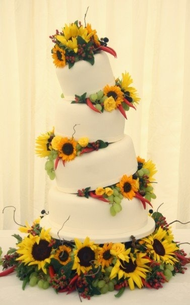 48 best Cake images on Pinterest Sunflower cakes Sunflower