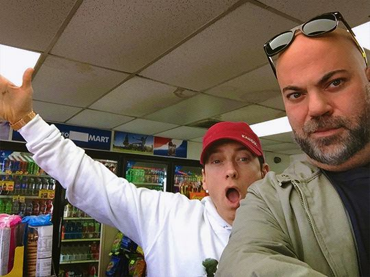 """unfollowfriday: """" shadyteam: """"Paul Rosenberg: It's been a long time… #7elevenseries """" when that direct deposit hits and you love your sugardaddy again """""""