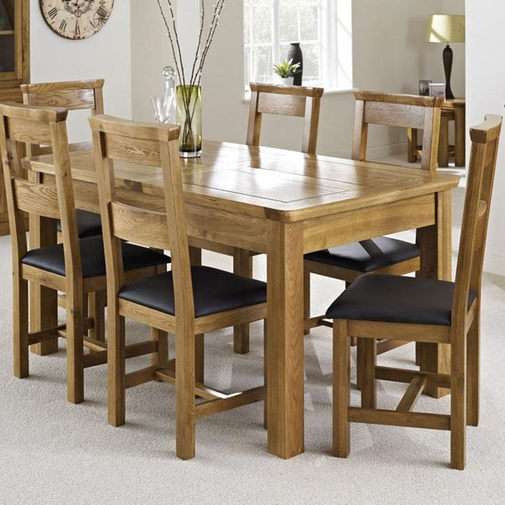 Knightsbridge Solid Oak Dining Chairs