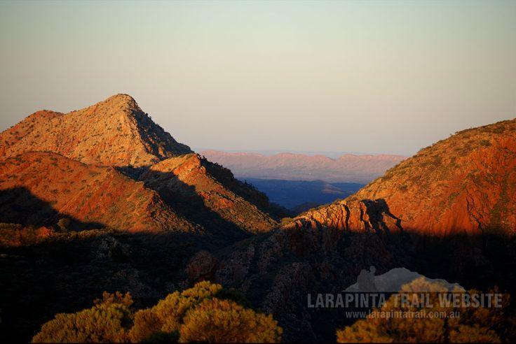 Breathtaking sunset colours on the Larapinta Trail. Just beautiful. (http://www.larapintatrail.com.au/s4.html). © Explorers Australia Pty Ltd 2014