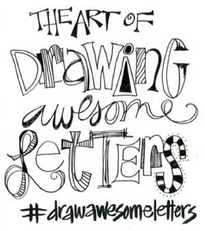 Discover more lettering techniques at ClothPaperScissors.com