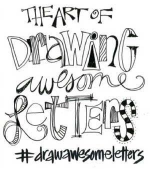 Discover more lettering techniques at ClothPaperScissors.com