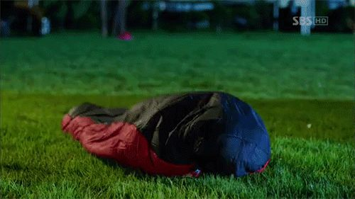 the sleeping bag (i love how this is actually a category under to the beautiful you images on google)