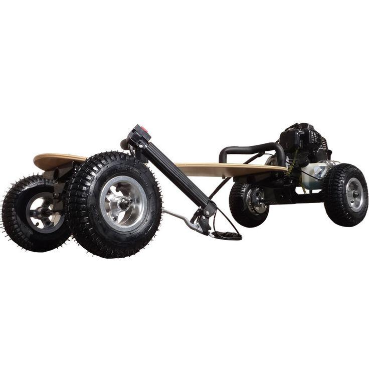 SkaterX Gas Powered Skateboard