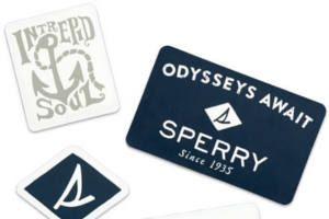 Request a FREE Sperry Sticker Pack.