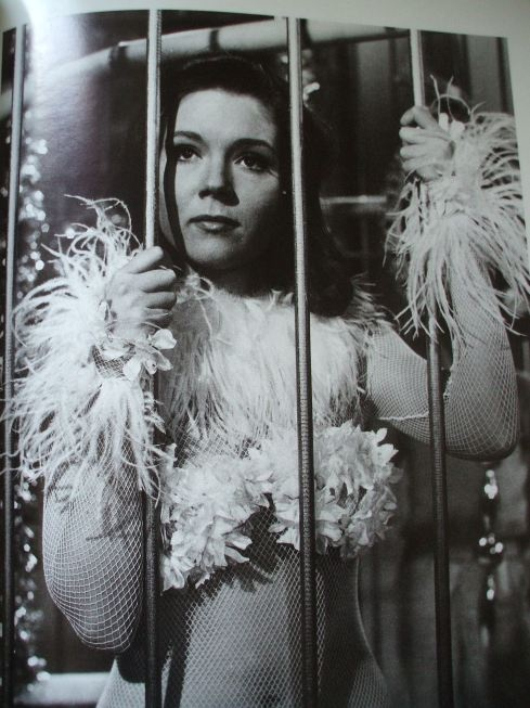 """Diana Rigg in """"The Avengers"""" TV show (Awesome show, but I only like the Emma Peel (Diana Rigg) episodes.)"""