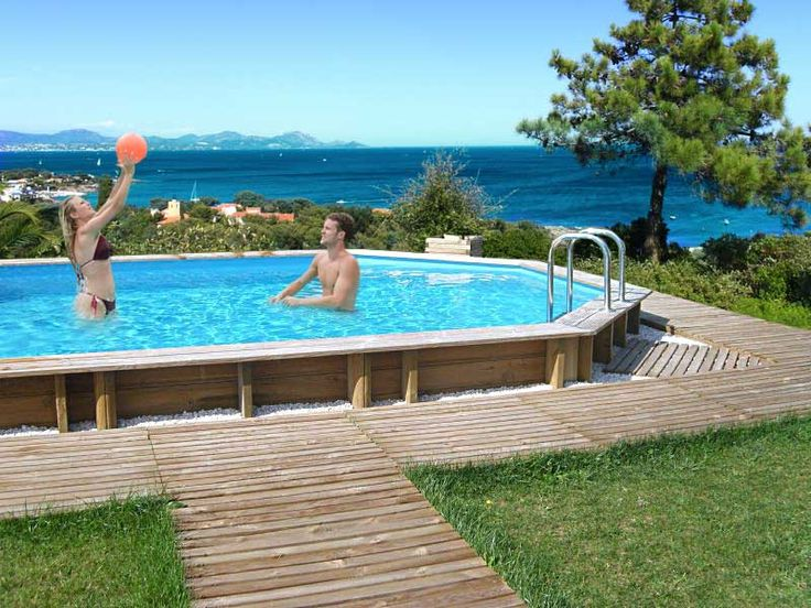 solde piscine bois ubbink piscine bois lina x h cm with. Black Bedroom Furniture Sets. Home Design Ideas