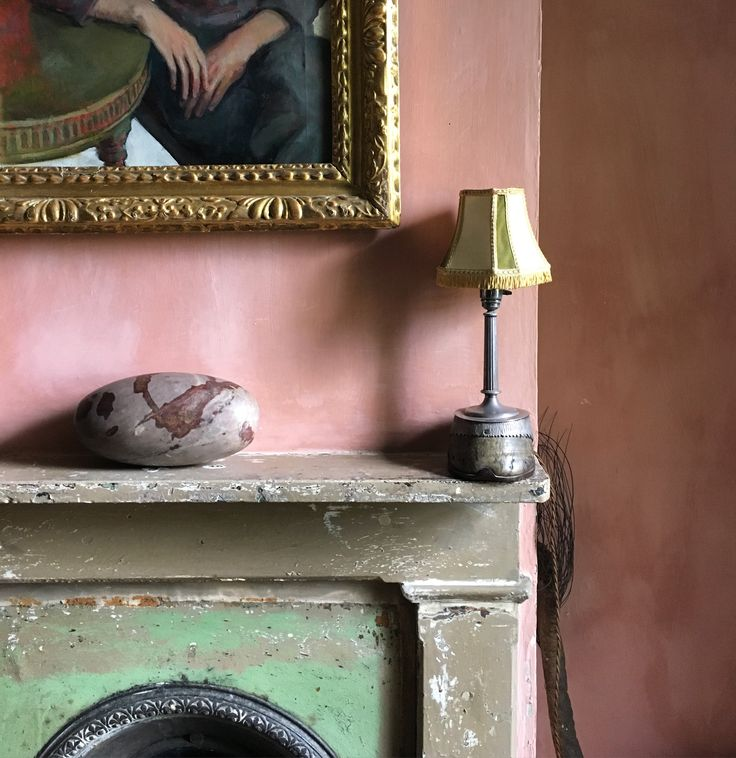 The dreamiest colours at Malplaquet House, East London