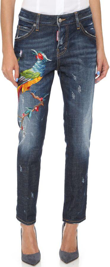 I soooo want these Dsquared jeans