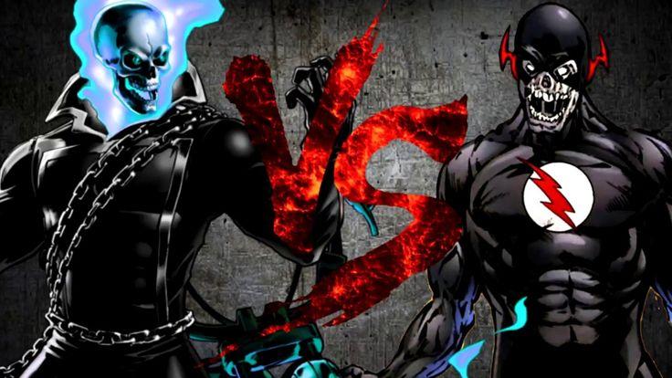 Призрачный Гонщик VS Чёрный Флэш [CT Fight Club 3.0]